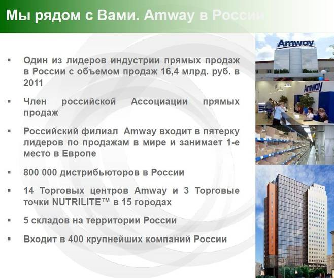 amway project report Amway also reported double-digit sales growth in italy and spain china continues to be amway's biggest market, generating more than $4 billion, according to a bloomberg report.